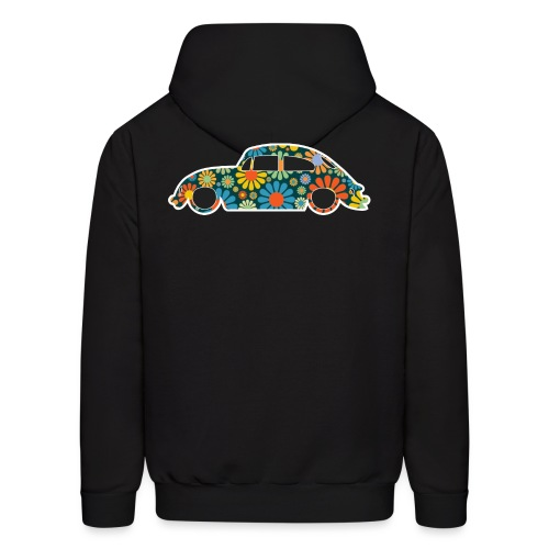 Beetle Car Flower Power - Men's Hoodie