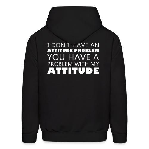 attitude - Men's Hoodie