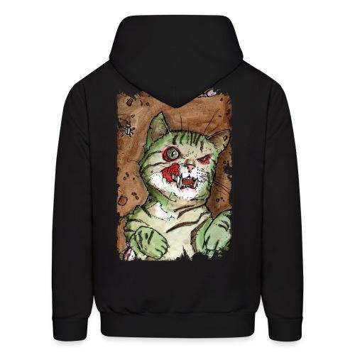 zombie kitten 1 - Men's Hoodie
