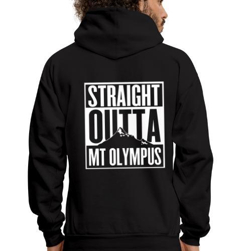 Straight Outta Mt Olympus - Men's Hoodie