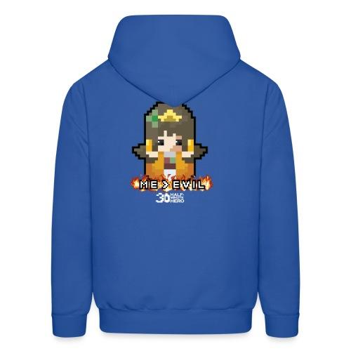 Princess ME v EVIL (White logo) - Men's Hoodie