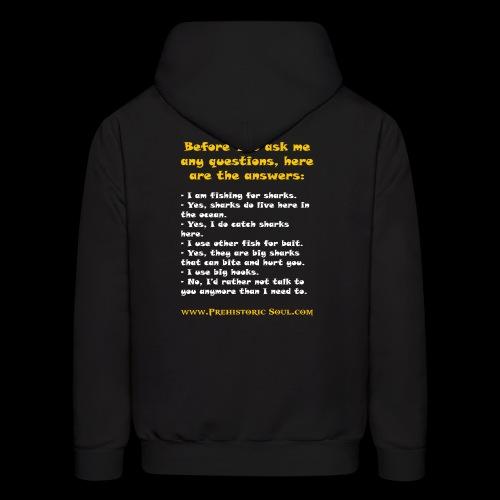Surf Shark T-Shirts - Men's Hoodie