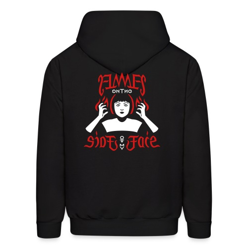 Flames on the Sides of my Face - Men's Hoodie