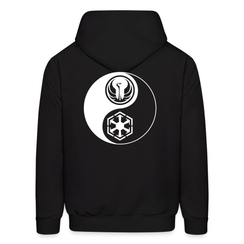 Star Wars SWTOR Yin Yang 1-Color Light - Men's Hoodie