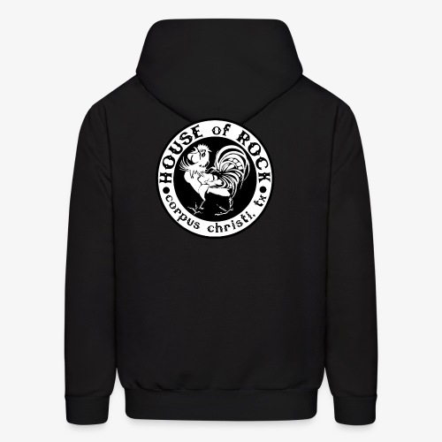 House of Rock round logo - Men's Hoodie