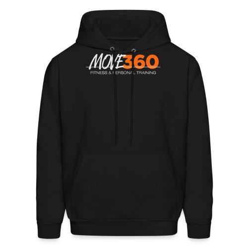 Move360 Logo LightGrey - Men's Hoodie