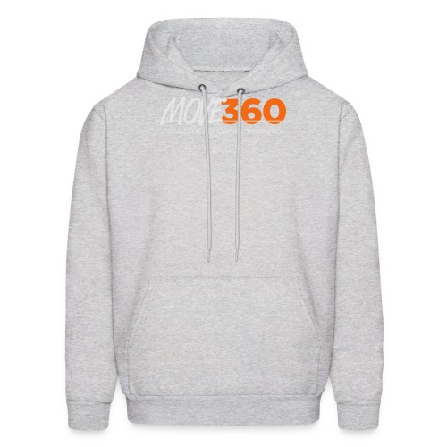 Move360 Logo LightGrey - Men's Hoodie