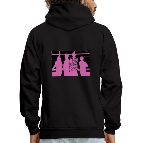 The One2s Silhouette - Men's Hoodie