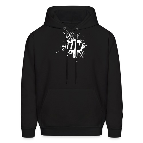 logo small white png - Men's Hoodie