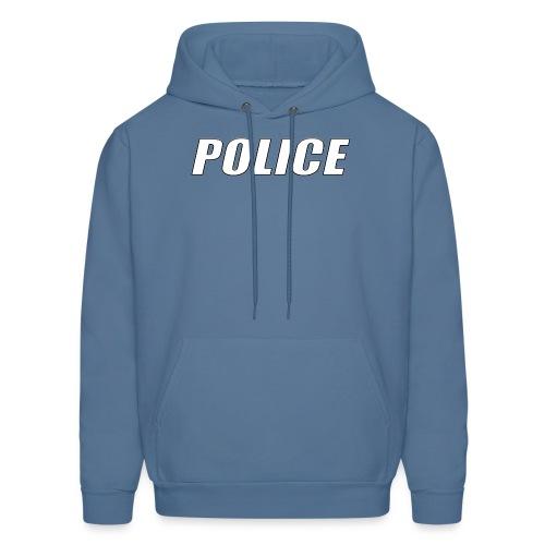 Police White - Men's Hoodie