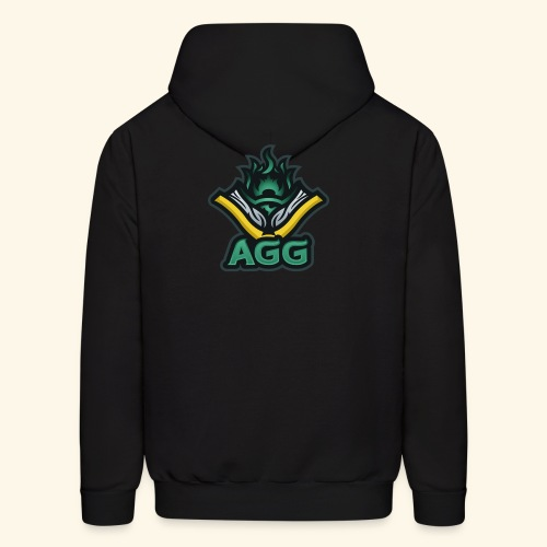 AGG Logo Text Transparent - Men's Hoodie