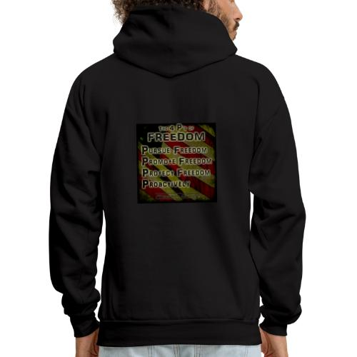 The 4 Ps of Freedom - Men's Hoodie