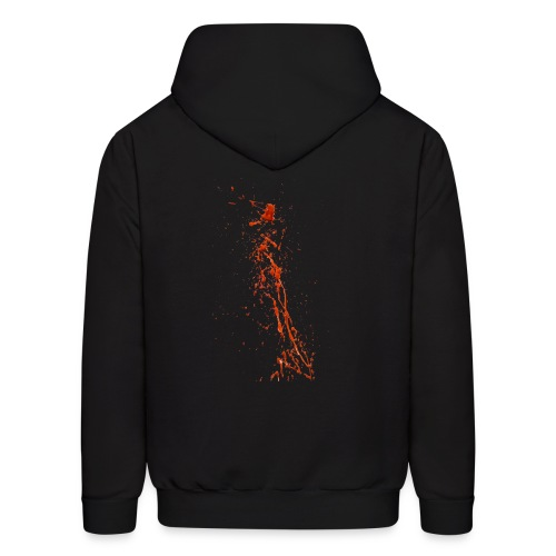 Blood Splatter 87 png - Men's Hoodie