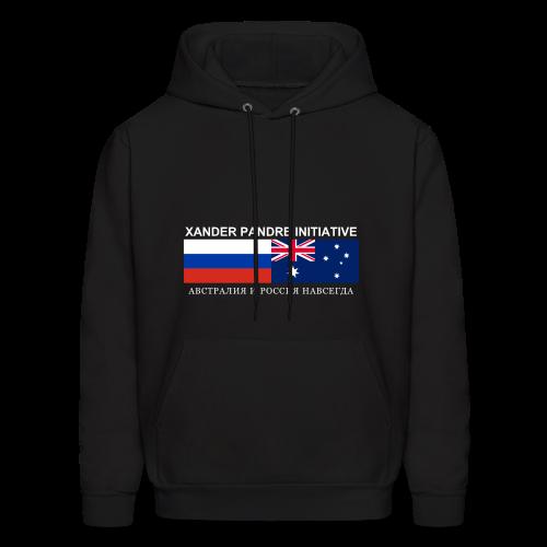 Xander Pandre Initiative АВСТРАЛИЯ И РОССИЯ НАВСЕГ - Men's Hoodie