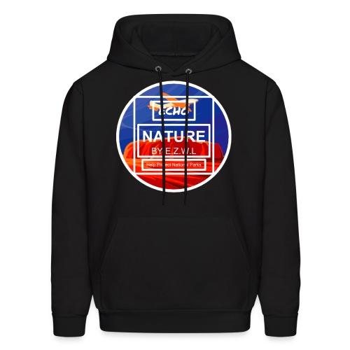 ECHO™Nature Ayers Rock Logo Hoodie Black - Men's Hoodie