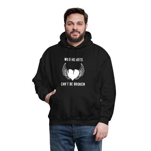 Wild Hearts Can't Be Broken Retro Biker Style - Men's Hoodie