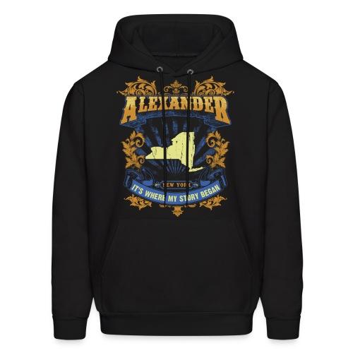 Alexander New York It s my where story began Tee - Men's Hoodie