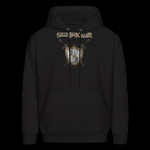 sk golden shield with band logo - Men's Hoodie