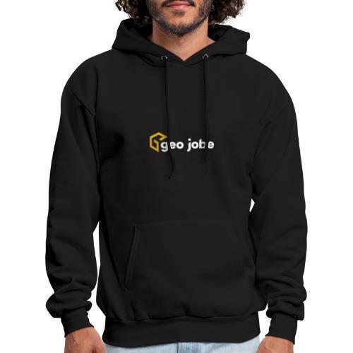GEO Jobe Corp Logo White Text - Men's Hoodie