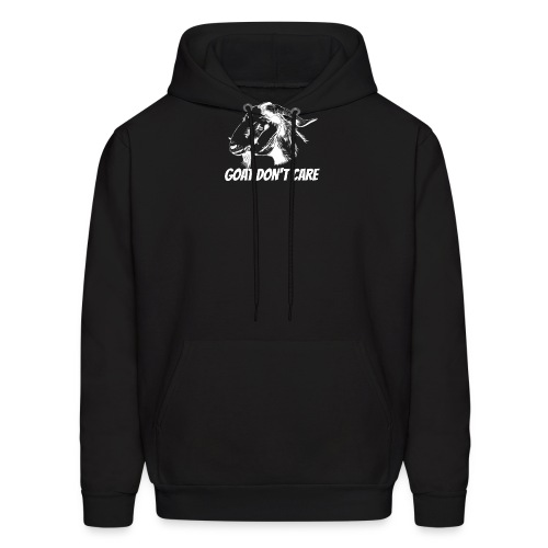 Vector Goat Farm Animal white 2 - Men's Hoodie