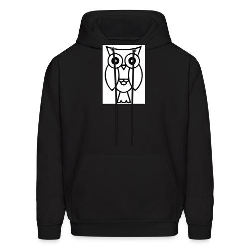 best smart owl - Men's Hoodie