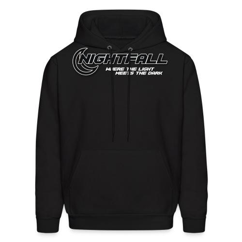 NightFall w/ Slogan - Men's Hoodie