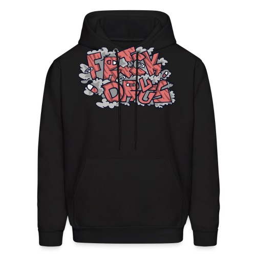 FRICK DRUGS! (RED) - Men's Hoodie