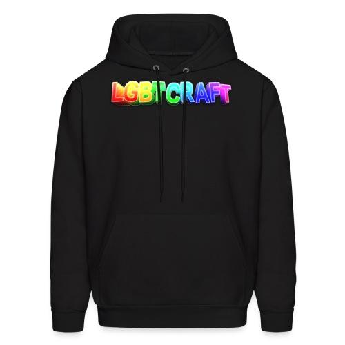 LGBT Craft Logo - Men's Hoodie