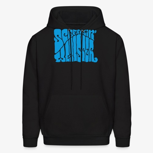 Screamin' Whisper Retro Logo - Men's Hoodie