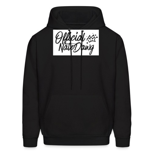 Official NateDawg Black White Covered Merch - Men's Hoodie