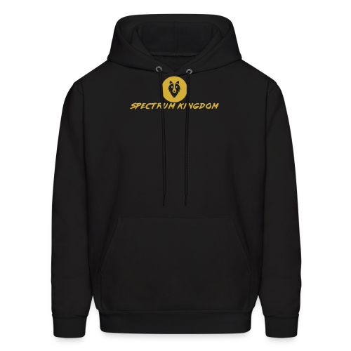 Spectrum Kingdom Gold Logo - Men's Hoodie