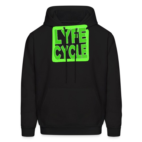 LYFECYCLE SQUARE - Men's Hoodie