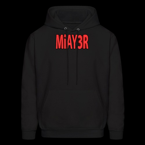 Red MiAY3R Logo - Men's Hoodie