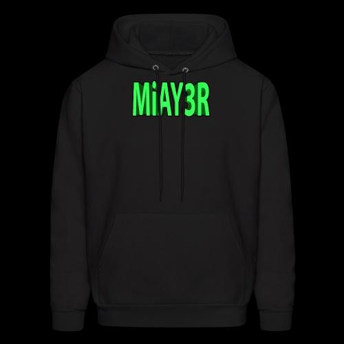 Green MiAY3R Logo - Men's Hoodie