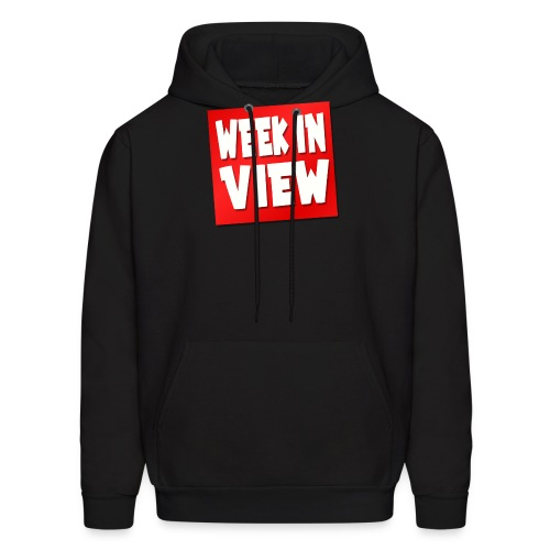 WEEK IN VIEW LOGO - Men's Hoodie