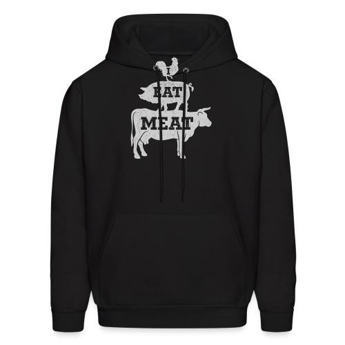 I Eat Meat - Men's Hoodie