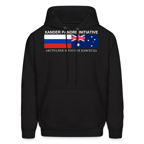 Xander Pandre Initiative АВСТРАЛИЯ И РОССИЯ НАВСЕГ - Men's Hoodie