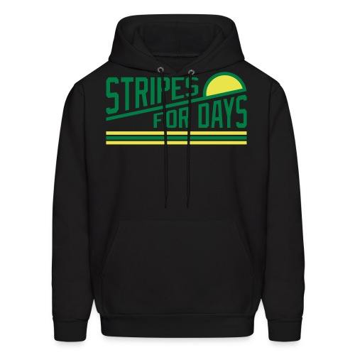 STRIPES FOR DAYS - Men's Hoodie