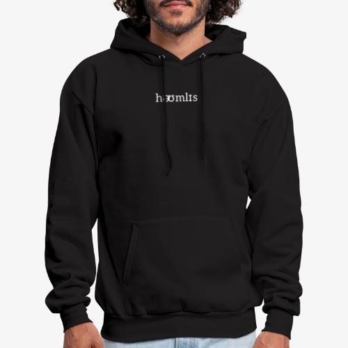 Homeless Pronunciation - Black - Men's Hoodie