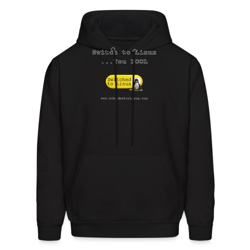 Switch to Linux You Fool - Men's Hoodie