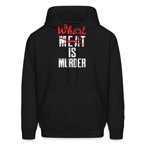 Wheat is Murder - Men's Hoodie