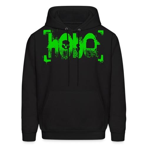 hoboliferendergreenlarge - Men's Hoodie