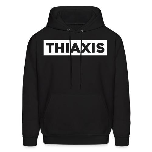THIAXIS WHITE BAR - Men's Hoodie