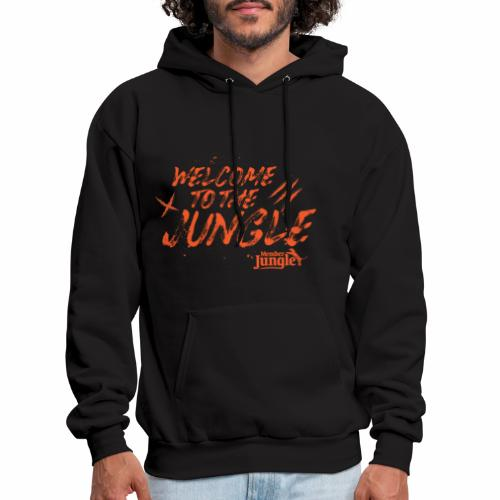 Welcome to the Member Jungle Orange - Men's Hoodie