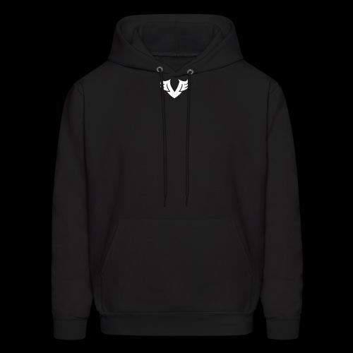 white Villain 2D - Men's Hoodie