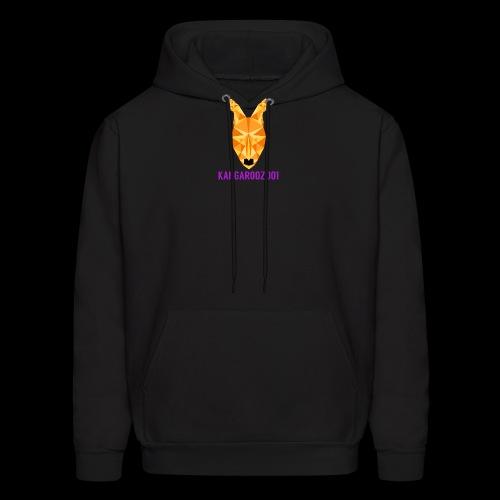 Kangaroozoo1 Logo & Name - Men's Hoodie