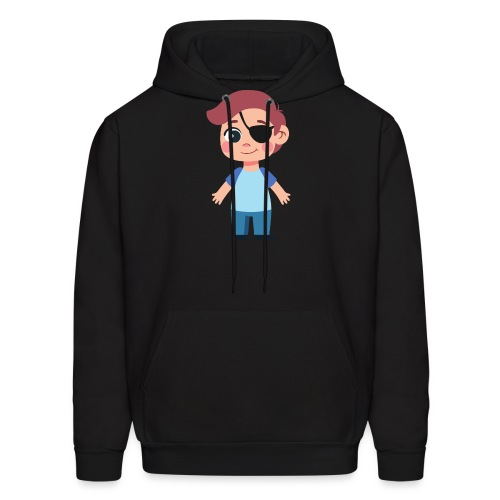 Boy with eye patch - Men's Hoodie