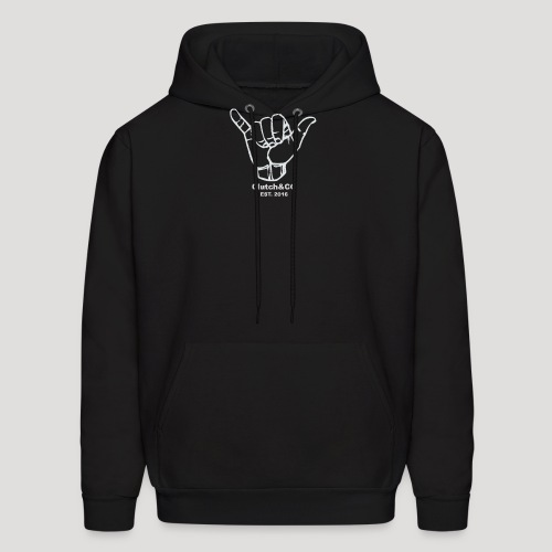 Grey Shaka for Black Clothing - Men's Hoodie