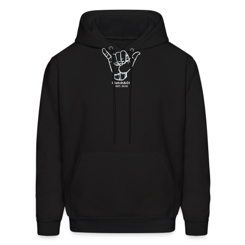 Grey Shaka for Black Clothing - Men's Hoodie