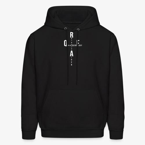 Rothy Quinlan foxy Aiden Zac quin logo - Men's Hoodie